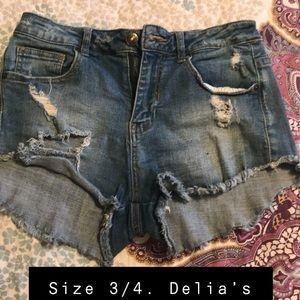 Delia's brand shorts